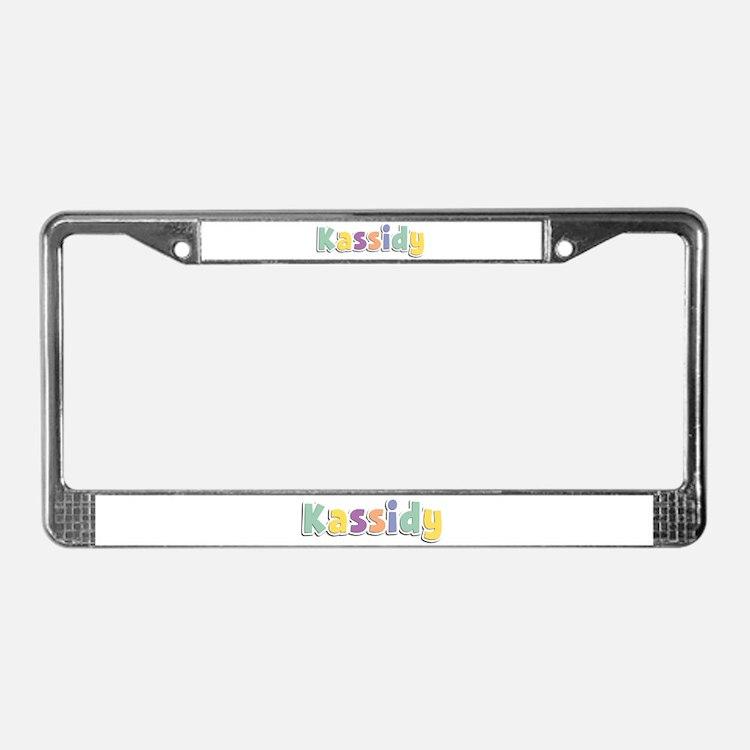 Kassidy Spring14 License Plate Frame