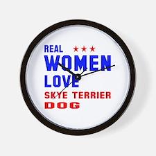 Real Women Love Spinone Italiano Dog Wall Clock