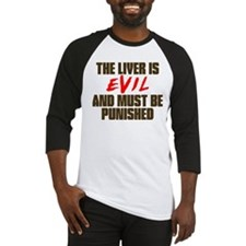 the live is evil Baseball Jersey
