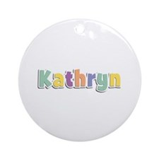 Kathryn Spring14 Round Ornament
