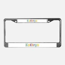 Kathryn Spring14 License Plate Frame