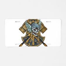 viking1 Aluminum License Plate