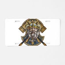 viking3 Aluminum License Plate