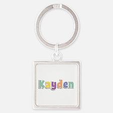 Kayden Spring14 Square Keychain
