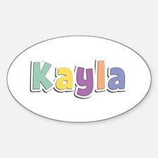 Kayla Spring14 Oval Decal