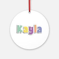 Kayla Spring14 Round Ornament