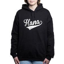 Hana, Retro, Women's Hooded Sweatshirt