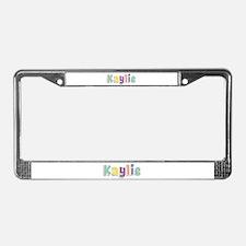 Kaylie Spring14 License Plate Frame