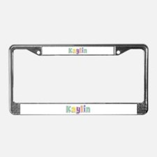 Kaylin Spring14 License Plate Frame