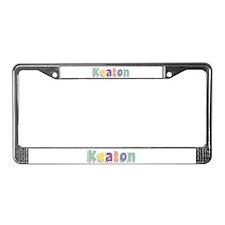 Keaton Spring14 License Plate Frame