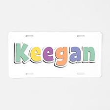 Keegan Spring14 Aluminum License Plate