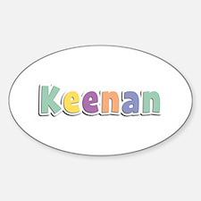 Keenan Spring14 Oval Decal