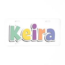 Keira Spring14 Aluminum License Plate