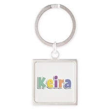 Keira Spring14 Square Keychain