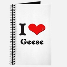 I love geese Journal