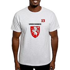 Soccer team uniform 13 T-Shirt