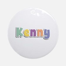 Kenny Spring14 Round Ornament