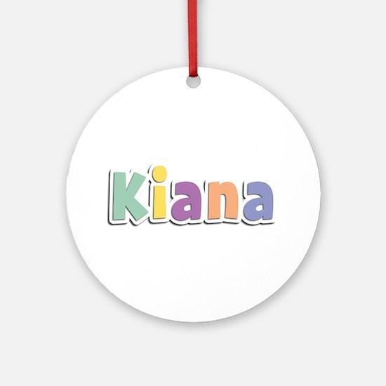 Kiana Spring14 Round Ornament
