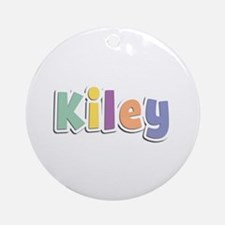 Kiley Spring14 Round Ornament