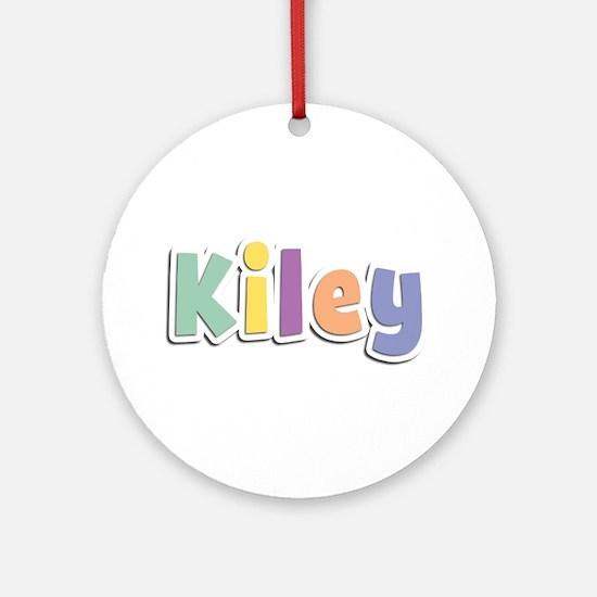 Kiley Spring14 Round Ornament