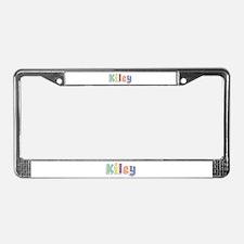 Kiley Spring14 License Plate Frame