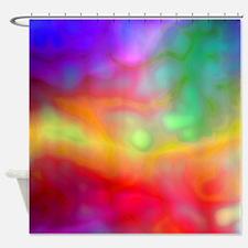 Cloudy Tie Dye Shower Curtain