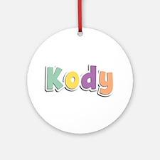Kody Spring14 Round Ornament