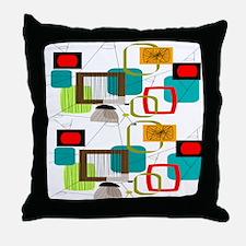 Atomic AB Throw Pillow