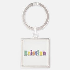 Kristian Spring14 Square Keychain