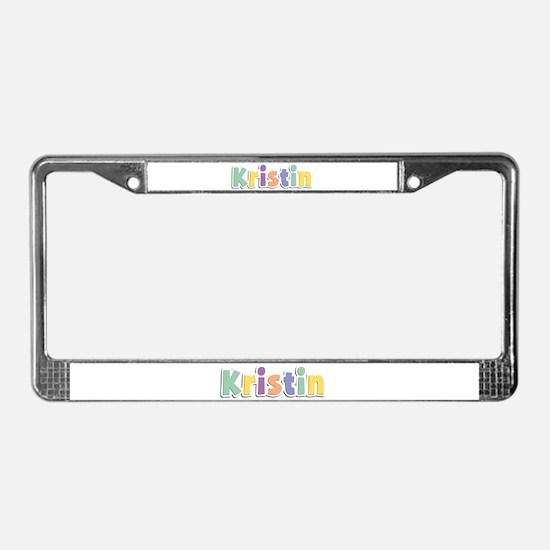 Kristin Spring14 License Plate Frame