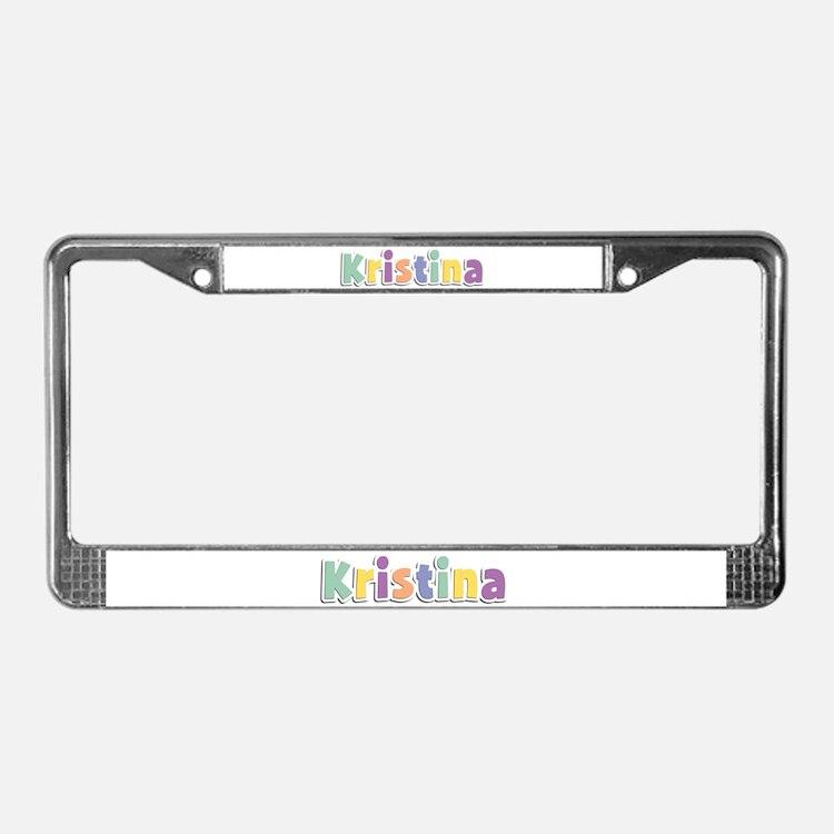 Kristina Spring14 License Plate Frame