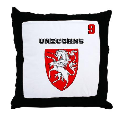 Throw Pillow Kit : Hockey team kit 9 Throw Pillow by culturegraphics