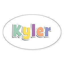 Kyler Spring14 Oval Decal