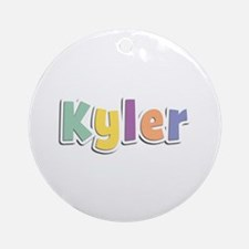 Kyler Spring14 Round Ornament