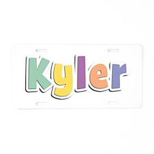 Kyler Spring14 Aluminum License Plate