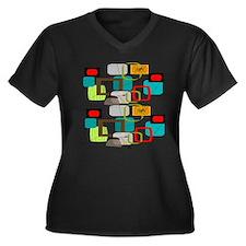 Atomic AB Plus Size T-Shirt