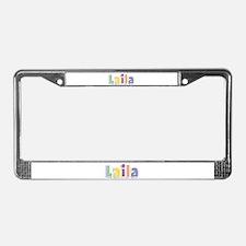 Laila Spring14 License Plate Frame