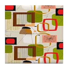 Atomic ABCD Tile Coaster