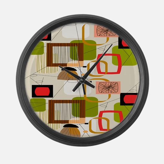 Atomic ABCD Large Wall Clock