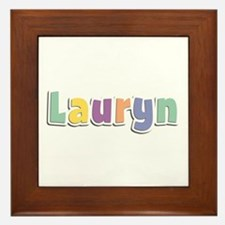 Lauryn Spring14 Framed Tile