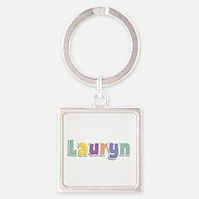 Lauryn Spring14 Square Keychain