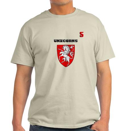 Basketball team uniform 5 Light T-Shirt