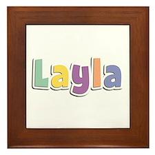 Layla Spring14 Framed Tile