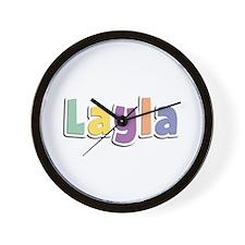 Layla Spring14 Wall Clock