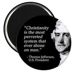 Jefferson Quote Magnet