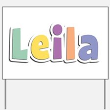 Leila Spring14 Yard Sign