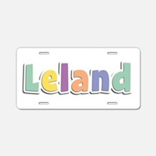 Leland Spring14 Aluminum License Plate