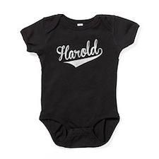 Harold, Retro, Baby Bodysuit
