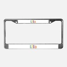 Lila Spring14 License Plate Frame