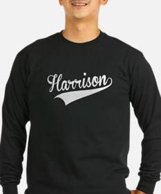 Harrison, Retro, Long Sleeve T-Shirt